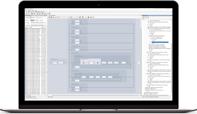 apsware omniview 6.0 for Automic - Flowcharting