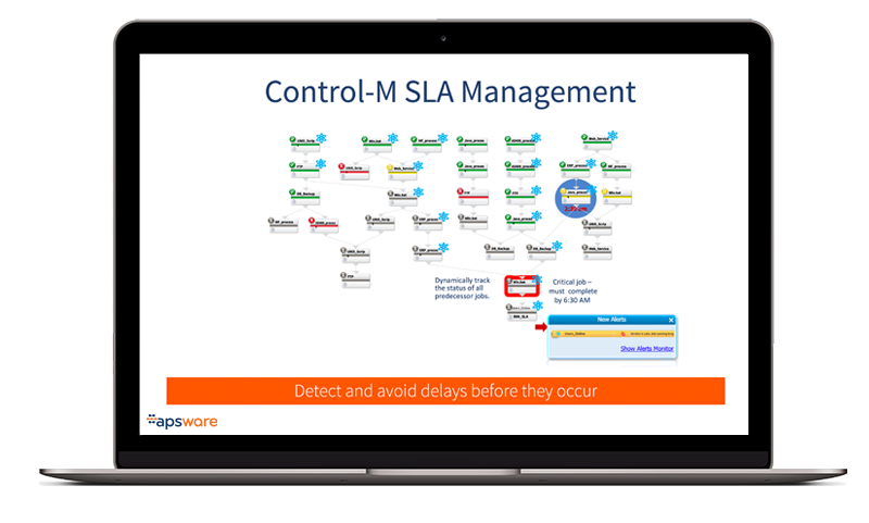Control-M - Overview - SLA Management